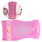 Miniature Pink Closet Wardrobe for Barbie Princess Doll House Bedroom Furniture