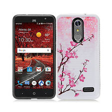 For ZTE Blade Spark 4G Hard IMPACT HYBRID Protector Case Skin Phone Cover