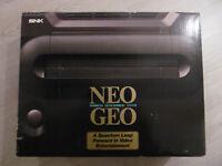 NEO GEO AES Low Serial Boxed - NeoGeo Jap - SNK - Body + Adaptor + PAD + BOX