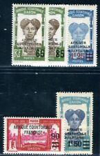 GABON 1925 108-112 ** POSTFRISCH TADELLOS (F4896