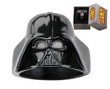 Star Wars Size 9 3D Darth Vader Stainless Steel Ring Black