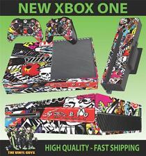 Xbox One pegatinas consola Stickerbomb versión 1 de la piel y 2 Pad Skins