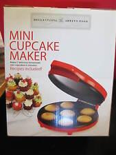 NEW IN BOX Bella Cucina Mini Cupcake Maker recipes included