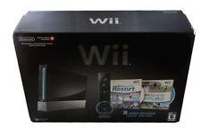 Console Nintendo Wii Pack Sports Resort 512 MB Noir (PAL)