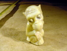 excavated Art deco ape funny figurine with hole in nose Limbach age 1900 Art9119