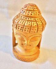 "New 4"" Hand Carved Wood Ganesha Ganapati Statue Murti Elephant God Ganesh"