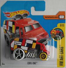 """Hot Wheels - Cool-One rot """"Art Cars"""" Neu/OVP"""