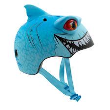 Raskullz Bike Helmet Shark Face Mask Kids 5-8 Skateboard Rollerblading Skate