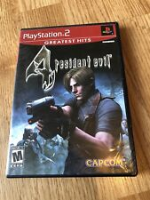 Resident Evil 4 (Sony PlayStation 2, 2005) Ps2 VC3