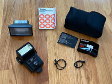 Vivitar 283 Electronic Flash with Accessories filter lenses and Case