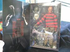 "2004 Sideshow Collectibles Freddy Krueger Freddy Vs. Jason 12"" Action Figure NIB"