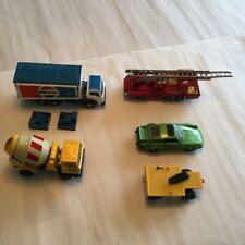 Super Kings Lot K-70  Porsche Turbo Log Truck Trailer Pepsi Truck Cement & Fire