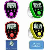 Digital Handheld Sports Stopwatch Stop Watch Clock Alarm Counter Timer LCD - UK