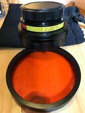 Original INON UWL-H100 mit Rotfilter   Breit Konvertierung Objektiv