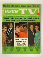 Inside TV magazine Lennon, Dean martin, Glen campbell, Andy Williams July1969