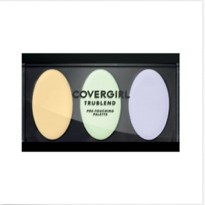 COVERGIRL truBLEND Pre-Touching Palette 505 Warm/Neutral New Sealed
