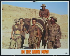 In The Army Now (1994) International Lobby Card Set PAULY SHORE