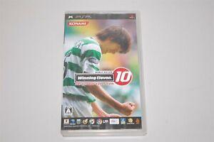 World Soccer Winning Eleven 10 Ubiquitous Evolution Japan Sony PSP game