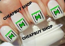 Top Quality》GREEN KIDNEY CANCER AWARENESS BUTTERFLY LOGO》Tattoo Nail Decals