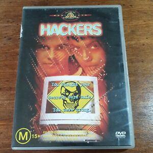 Hackers DVD R4 LIKE NEW FREE POST