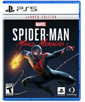 PS5 Marvels Spiderman Miles Morales Launch Edition Sony Playstation 5 Brand NEW