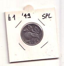 Repubblica Italiana 1 lira 1949  Arancia  Italma   SPL    (m839)