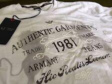 Armani Men's Crew Neck Casual Shirts & Tops
