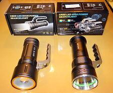 Lampe torche Américaine rechargeable 1200 Lumens Neuve