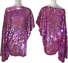 Dolce & Gabbana Brilliant Sequins Gold Beads Embellishment Lilac Silk Dress 27K