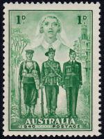 ✔️ AUSTRALIA 1940 - WWII NURSE AVIATOR SOLDIER - SC. 184  ** MNH $2.25 [ST004]
