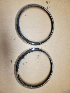 1949 1950 1951 1952 Chrysler Desoto Dodge Plymouth Headlight Ring Rim Bezel