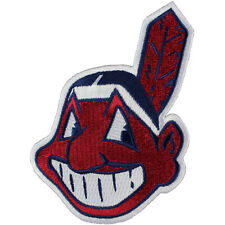 Cleveland Indians Chief Wahoo Jersey Sleeve Official MLB Logo Patch
