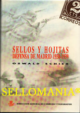 SELLOS Y HOJITAS DEFENSA DE MADRID 1938 - 1939 AUTOR OSWALD SCHIER NUEVO TC20975