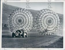 1962 Ohio High Speed Auto Racer Arthur Arfons in Jet Powered Car Press Photo