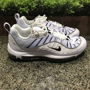 Nike Air Max 98 'Football Grey' Running Shoes AH6799-023 Women's Size 10