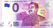 GEORGIE J.V. Stalin, 1878-2018, 2018, Billet 0 € Souvenir