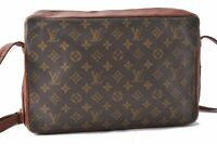 Auth Louis Vuitton Monogram Sac Bandouliere 35 Shoulder Bag Old Model LV A6403