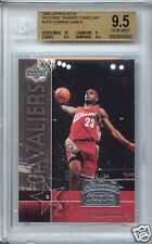 LeBRON JAMES Lakers 2004 Upper Deck NTCD rookie BGS 9.5 GEM MINT