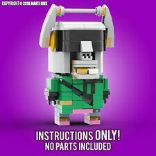 LEGO Brickheadz Fortnite DJ Yonder MOC Instructions - MartiBrix (PDF ONLY)