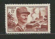 75X) FRANCE 1953** GÉNÉRAL LECLERC, MARECHAL DE FRANCE - Yv. 942 (MNH)