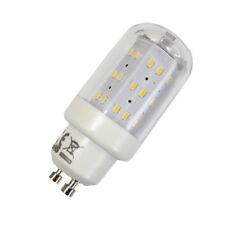LED Leuchtmittel 4W GU10 3000K Warmweiss 230V 400lm Klar, Zylinder Form, Raumlic