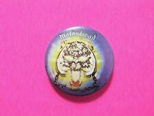 Motorhead Vintage Button Badge Pin Uk Import