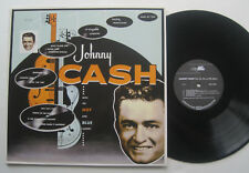 LP Johnny Cash - With His Hot And Blue Guitar - mint- Reissue 180g
