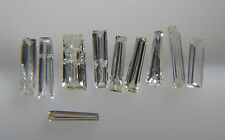 0.13cts 10pc Natural Loose Diamond Baguette Lot 2.3-2.5mm SI1 Clarity G-H Color
