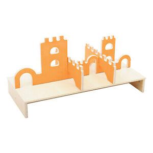 Children's Play Castle Wooden Top Toy Play House