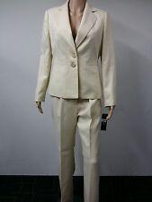 NEW - FAST to AUS - Le Suit - Size 8 - Women's Pant Suit - Light Yellow