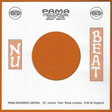 NU BEAT REPRODUCTION RECORD COMPANY SLEEVES - (pack of 10)