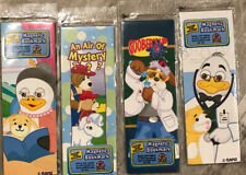 Webkinz Magnetic Bookmarks, 4 Styles With Codes New & Unopened