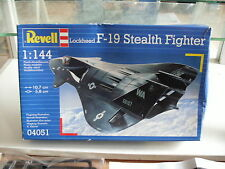 Modelkit Revell Lockheed F-19 Stealth Fighter on 1:144 in Box