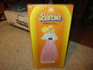 1983 Unopened Barbie Paper Doll & Paper Clothes!!